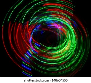 cool abstract light pattern
