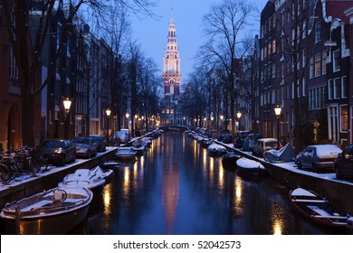 Cool Amsterdam - winter in Netherlands.