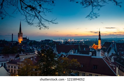 Cool Morning Over the Old Town - Tallinn, Estonia