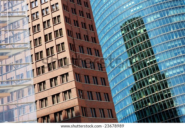Cool Pattern Walls Buildings Stock Image | Download Now