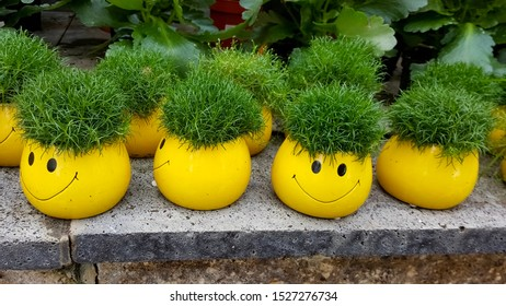Cool smiley pot, Maria Laach Monastery, Germany