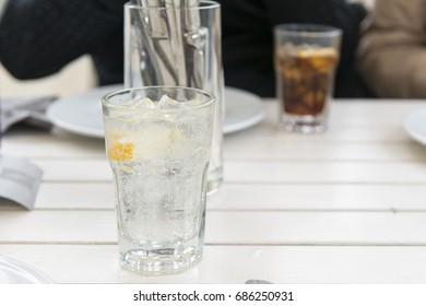 cool Sprite in glass