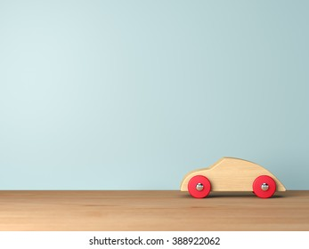 Cool wooden toy cars