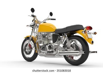 Cool Yellow Bike