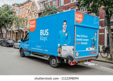 Coolblue Store Truck At Amsterdam The Netherlands 2018
