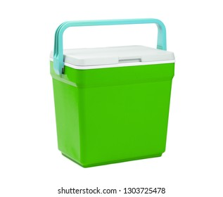 Cooler box isolated on a white background
