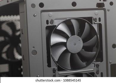 Cooler Fan inside Desktop Computer Case PC