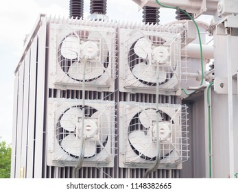 cooling fans and radiators transformer
