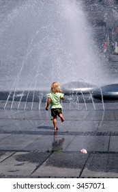 Cooling off in a fountain