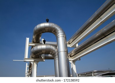 cooling pipe from industrial air system