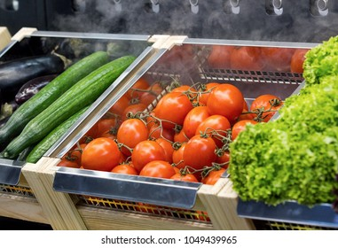 cooling system for fruit and vegetables