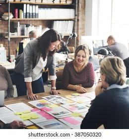 Cooperation Corporate Achievement Teamwork Concept