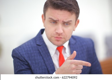Coorporate employeer choosing you for the job by pointing finger to the camera
