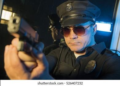 Handsome cop