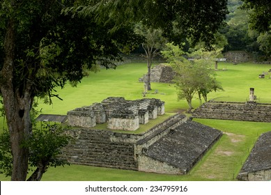Copan, the archeological site of Mayan civilization, Honduras