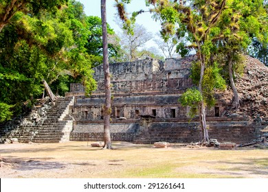 Copan ruins in the archeological site, Copan Ruinas, Honduras, Central America