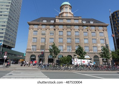 COPENHAGEN - 3 JUN: Copenhagen Visitor Centre in Copenhagen on 3 June 2016