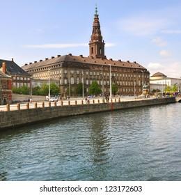 Copenhagen, Denmark. Christiansborg