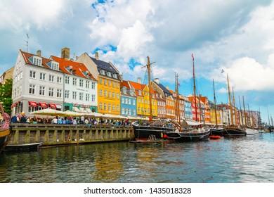 1bb23919 Copenhagen, Denmark - June 2016: Nyhavn (new Harbor) in Copenhagen, Denmark