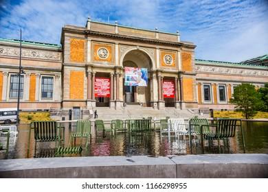 COPENHAGEN, DENMARK - June 2018: The National Gallery of Denmark (Statens Museum for Kunst - SMK) , Copenhagen