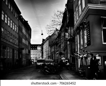 COPENHAGEN, DENMARK - March 11, 2017: Open restaurant of the famous Nyhavn Canal on September 9, 2016 in Copenhagen, Denmark. Nyhavn is one of the most famous landmark of Copenhagen.