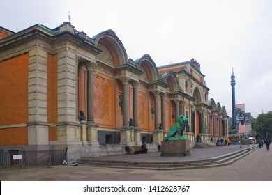COPENHAGEN, DENMARK - May 25, 2019: Carlsberg Glyptotek - art museum in Copenhagen