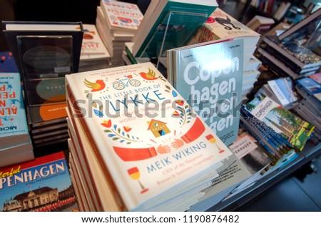 Copenhagen Denmark Sept 4 Popular Books Stock Photo Edit Now