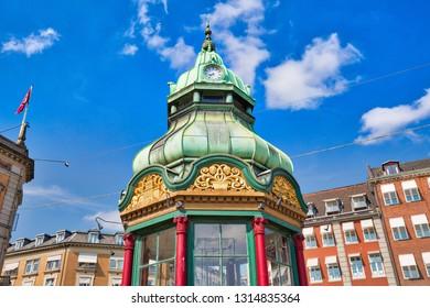 Copenhagen, Kongens Nytorv central city square