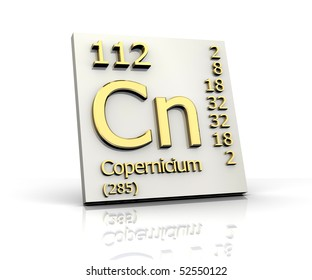 Uub stock images royalty free images vectors shutterstock copernicium periodic table of elements urtaz Choice Image