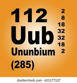 Uub stock images royalty free images vectors shutterstock copernicium ununbium periodic table of elements urtaz Choice Image