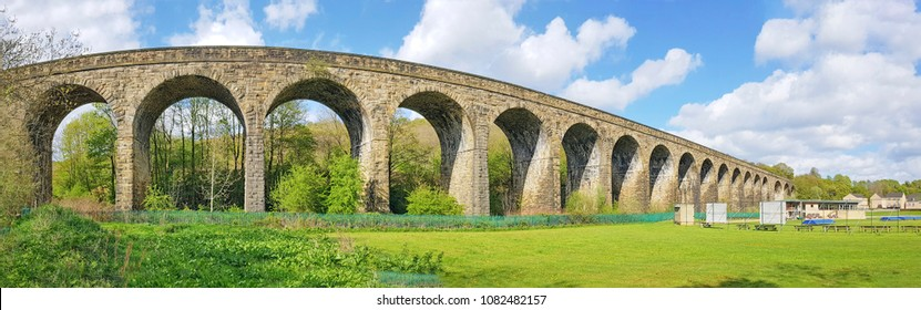 Copley Viaduct, Copley, Halifax, West Yorkshire, UK
