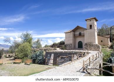 Copon Chapel in the country - Huancayo Peru