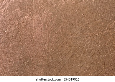 Copper alloy texture close up, made from gold silver and copper bronze