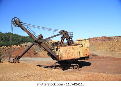 Copper machine in Spain