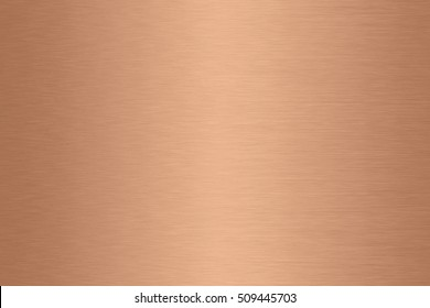 Copper metal gradient background brushed surface