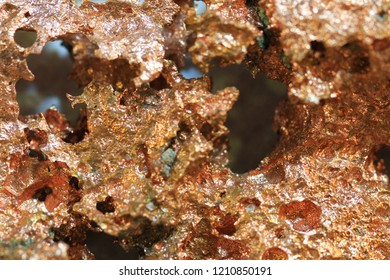 copper metal texture as very nice mineral background