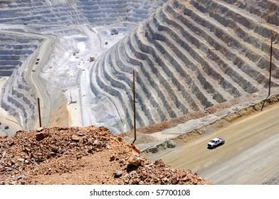 Copper Mine Close-up