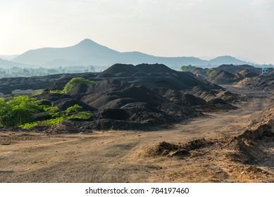 Copper mines in Chotanagpur plateu near Ghatsila, Jharkhand, India.