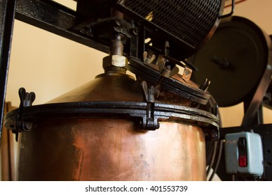 copper pot for cooking wine
