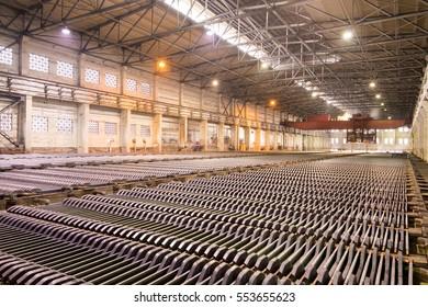 Copper production line