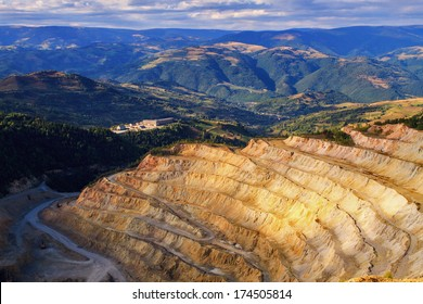 Copper quarry