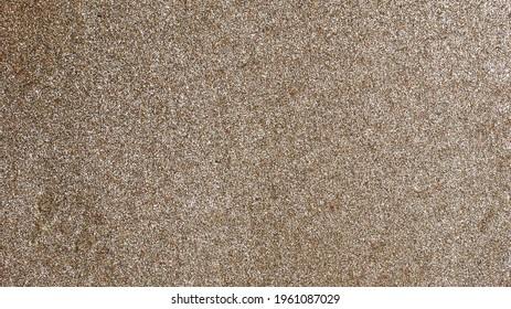 Copper sand on beach, 2020