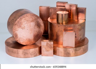 Copper scrap bars and plates