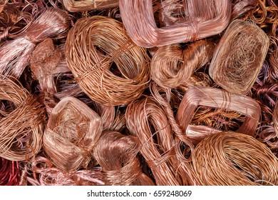 Copper scrap for reuse