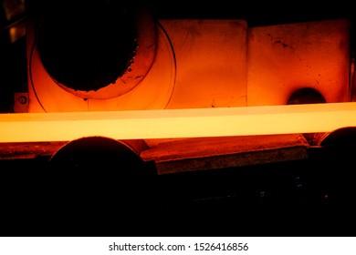 Copper shaft furnace. rolling copper