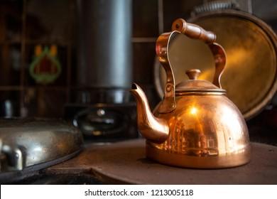 Copper Kettle Images Stock Photos Vectors Shutterstock