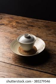 Copper tea ware