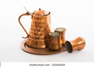 Copper traditional cups