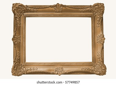Copper/Gilt Frame, Blank For Your Copy