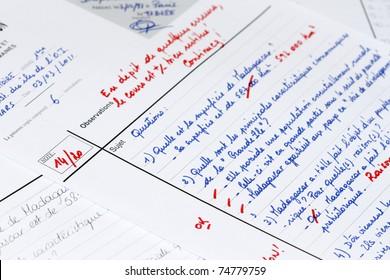 Copy of examination